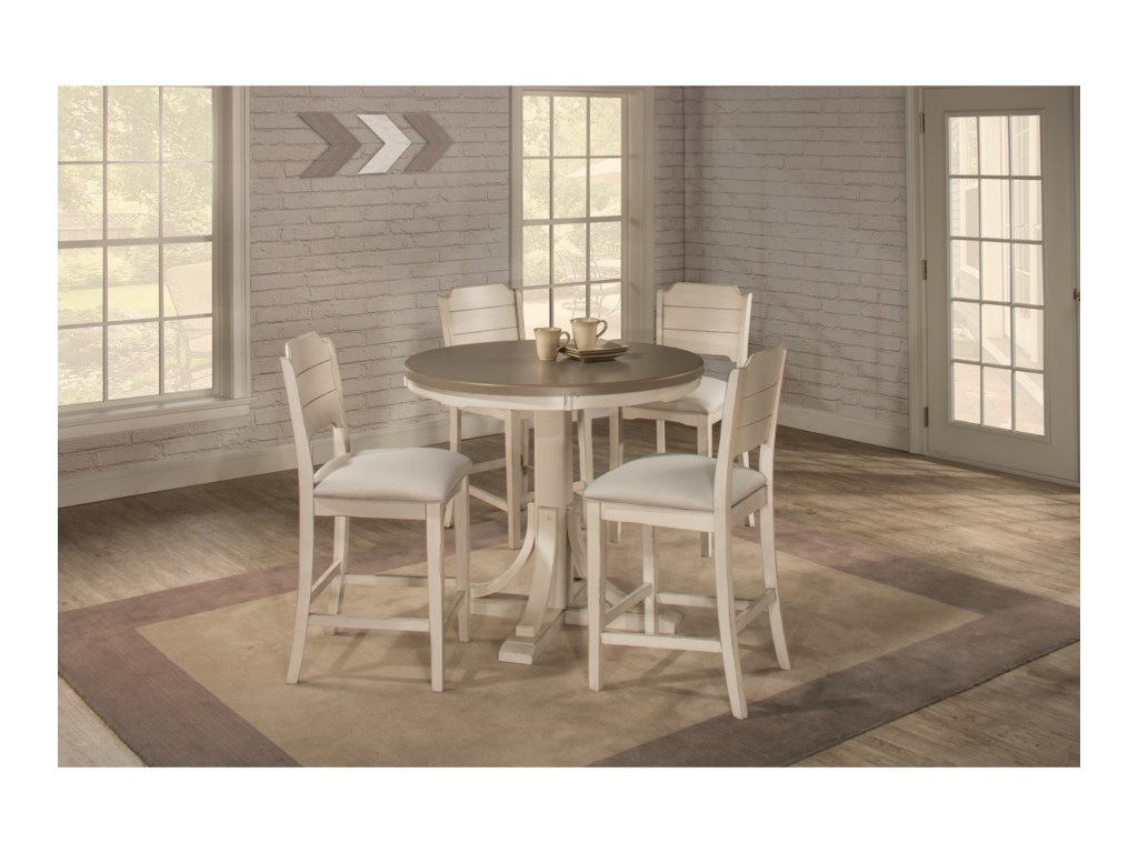 Hillsdale ClarionRound Counter Height Dining Table