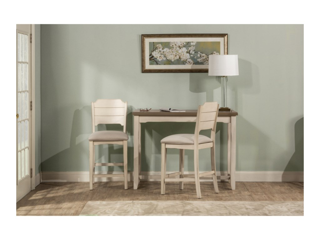 Hillsdale Clarion3-Piece Counter Height Table Set