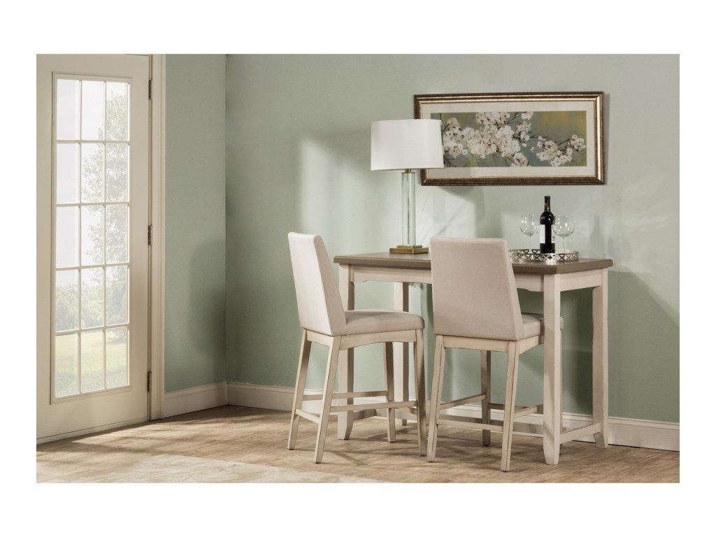 Hillsdale Clarion3-Piece Counter Height Dining Set