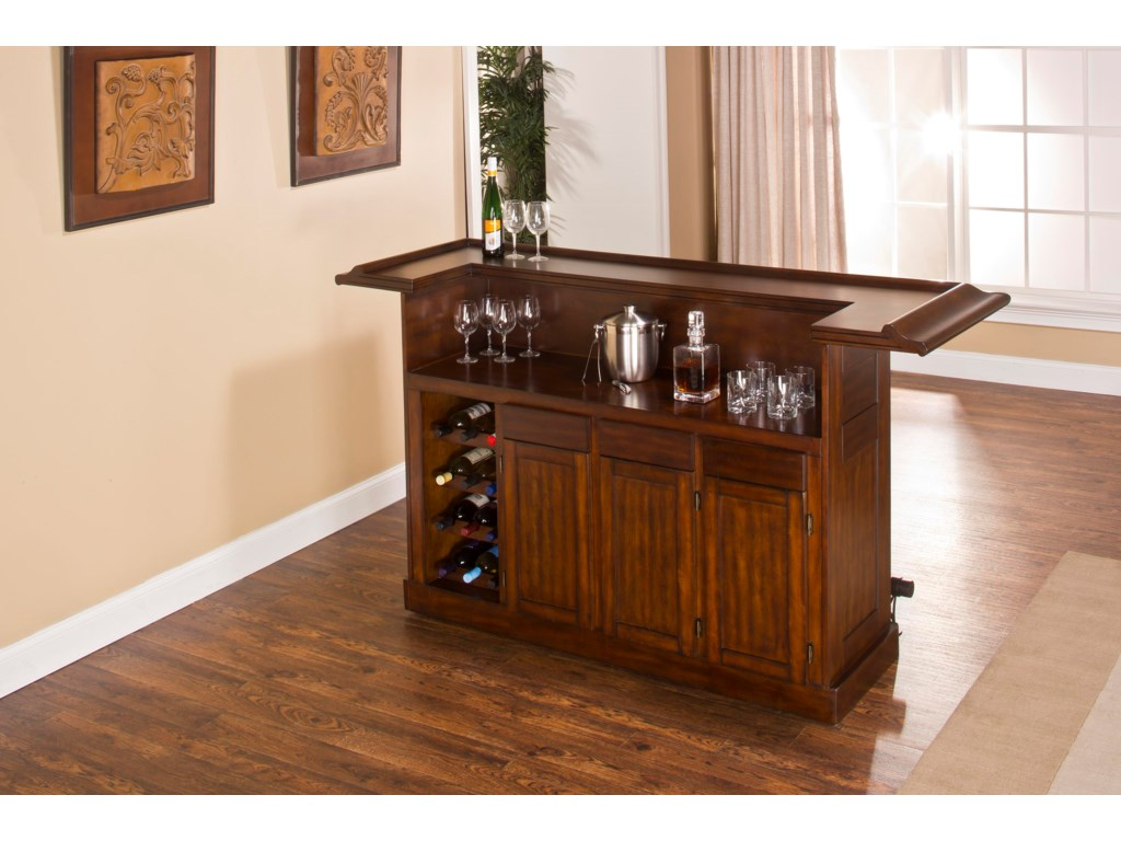 Hillsdale ClassicLarge Brown Cherry Bar