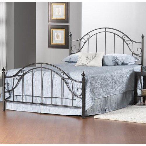 Hillsdale Clayton King Clayton Panel Bed