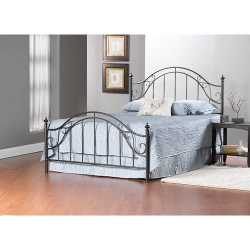 Hillsdale Clayton Full Bed Set with Rails