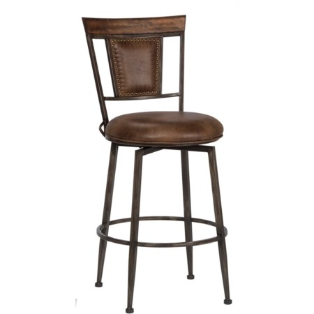 Commercial Grade Swivel Bar Stool