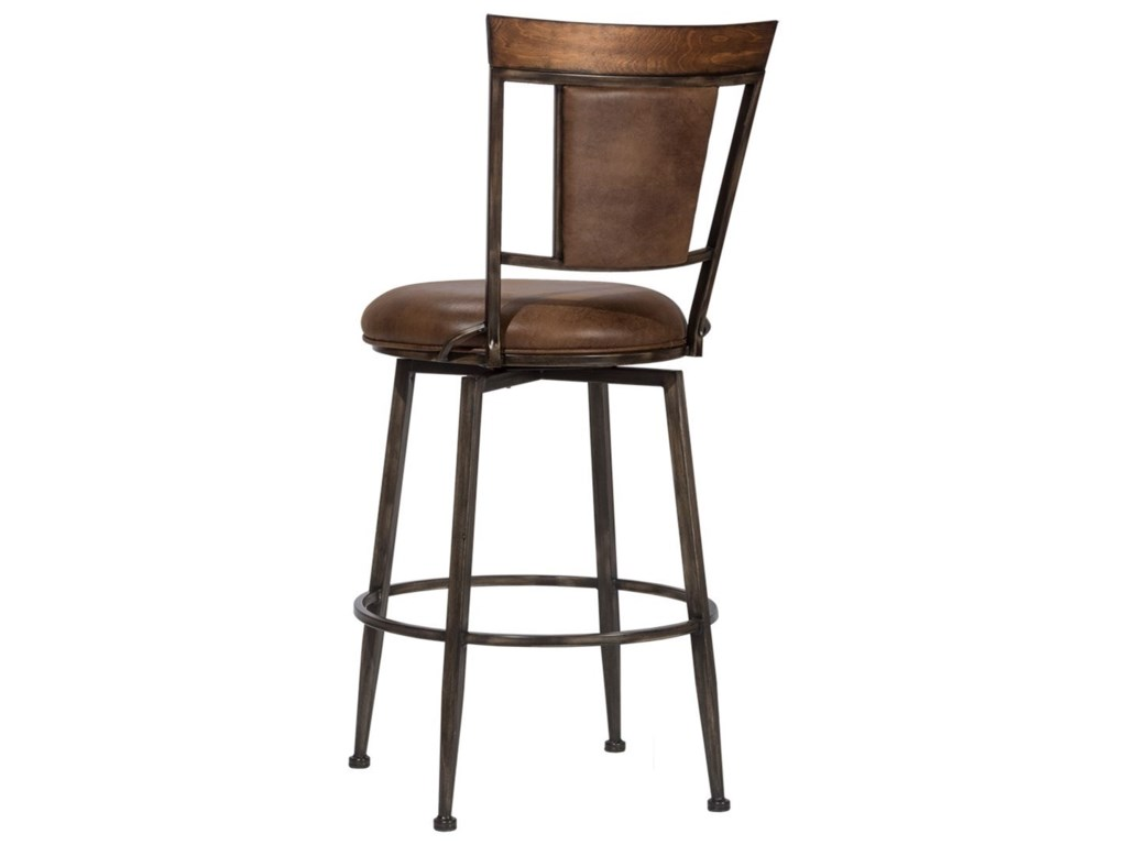 Hillsdale DanforthCommercial Grade Swivel Bar Stool