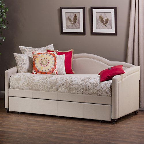 Hillsdale Daybeds Jasmine Daybed w/ Trundle
