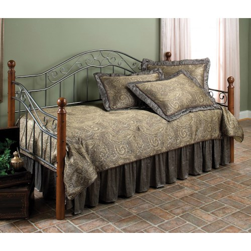 Hillsdale Daybeds Twin Martino Daybed - Suspension Deck Not Included