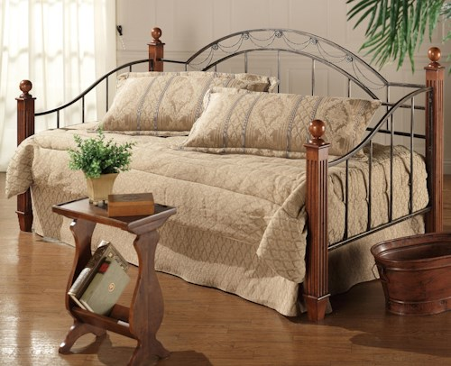 Hillsdale Daybeds Twin Camelot Wood Post Daybed