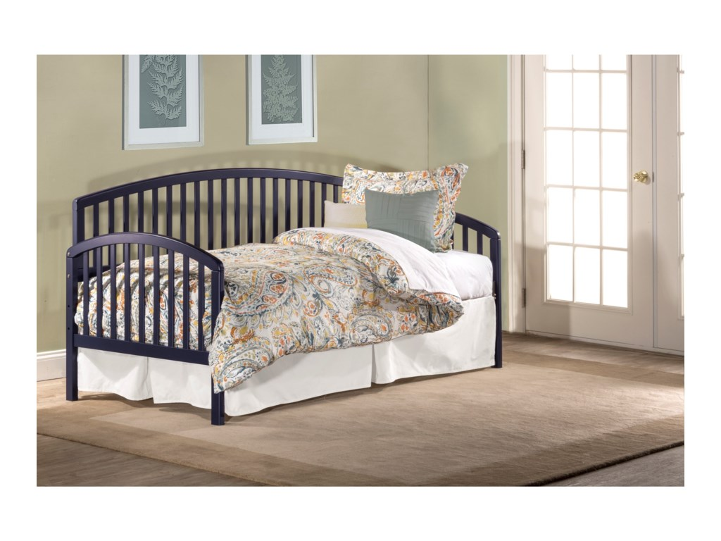 Hillsdale DaybedsDaybed w/Suspension Deck and Roll-Out Trundl