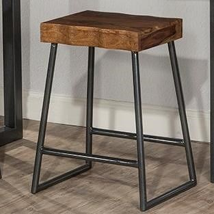 Hillsdale Emerson  Live Edge Counter Height Stool