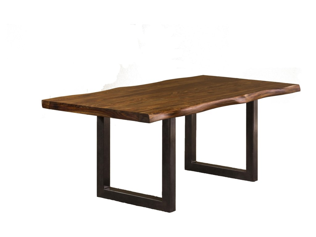 Hilale Emerson Natural Sheesham Wood Dining Table