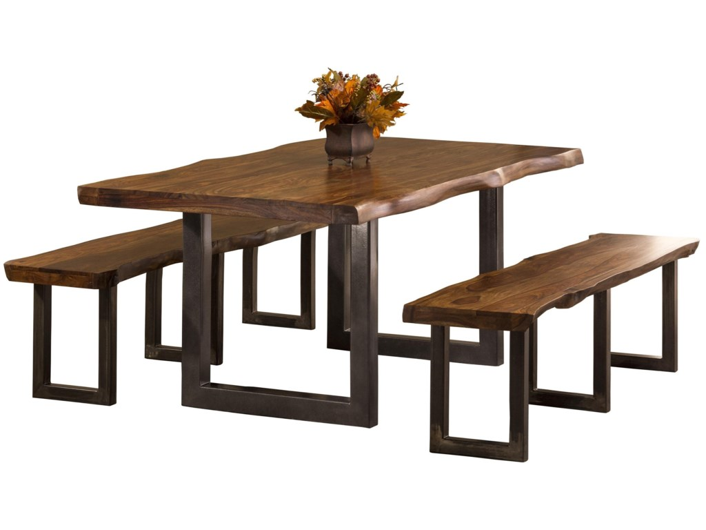 Hillsdale Emerson 3-Piece Rectangle Dining Set