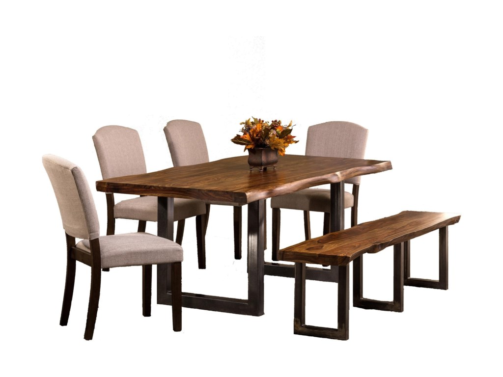 Hillsdale Emerson 6-Piece Rectangle Dining Set