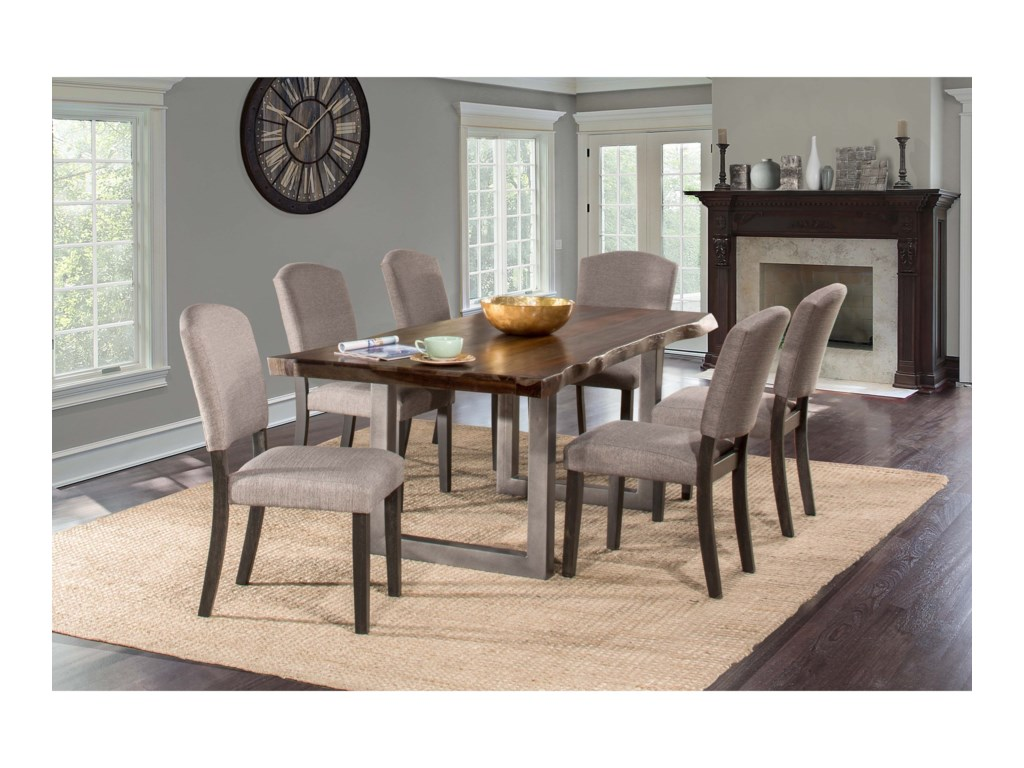 Hillsdale Emerson7-Piece Rectangle Dining Set