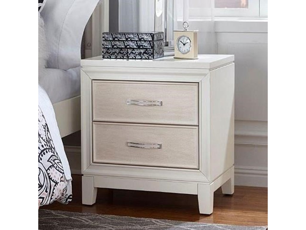 Hillsdale EvelynTwo Drawer Nightstand