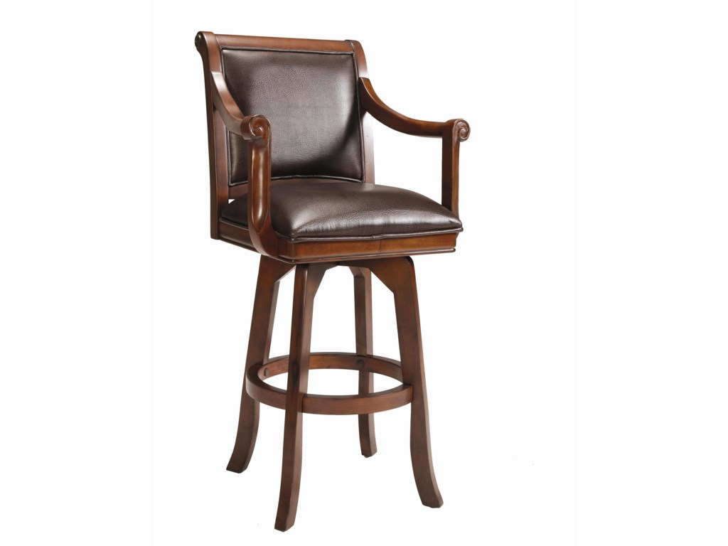 Hillsdale Game Stools & ChairsPalm Springs Swivel Bar Stool
