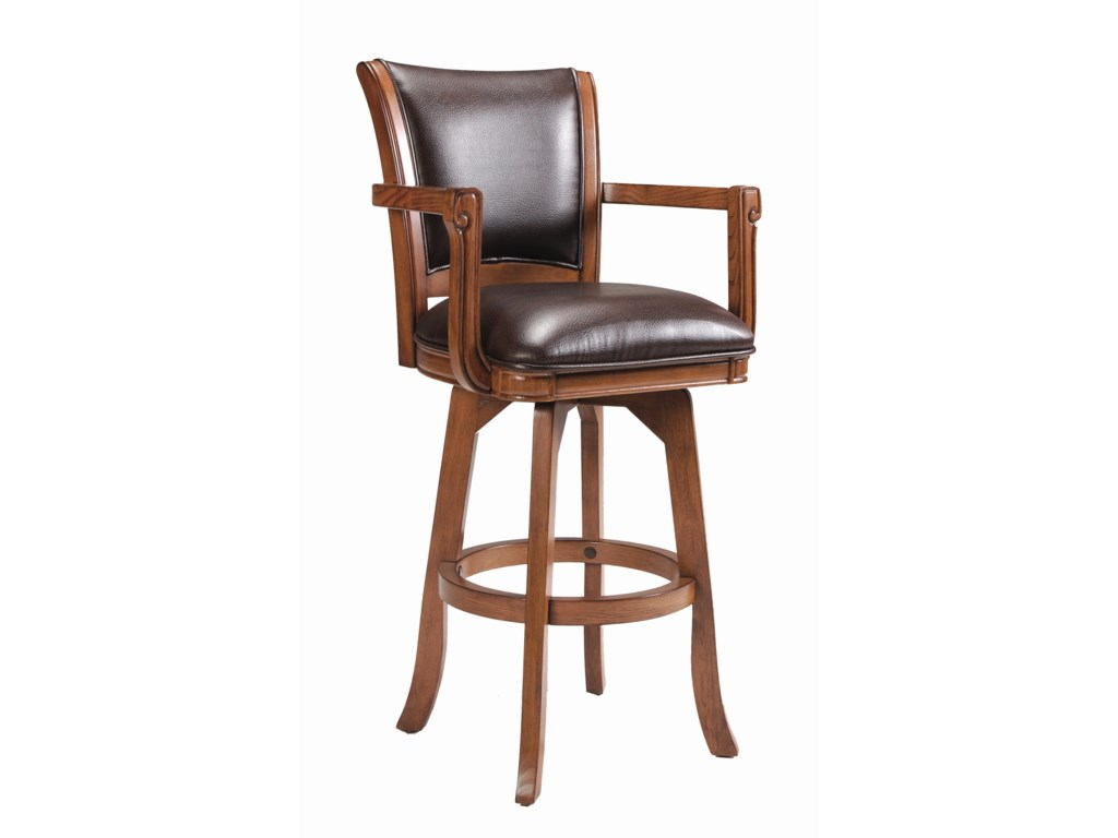 Hillsdale Game Stools & ChairsPark View Swivel Bar Stool