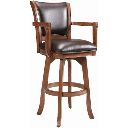 Hillsdale Game Stools & Chairs Park View Swivel Bar Stool