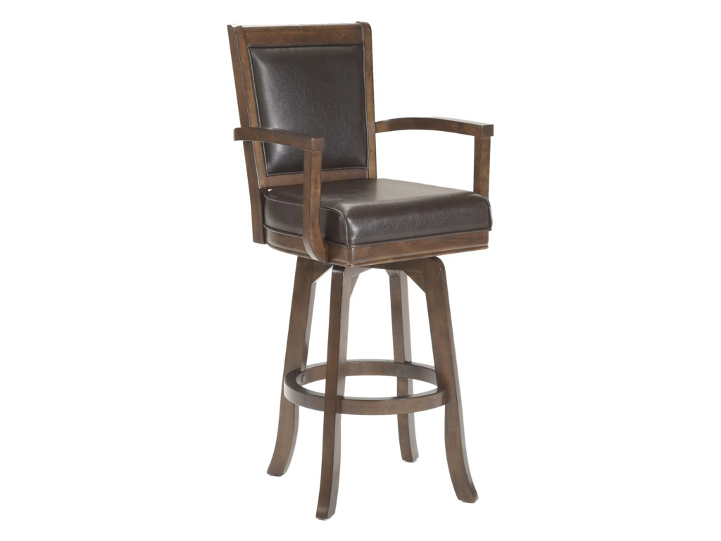Hillsdale Game Stools & ChairsAmbassador Swivel Bar Stool