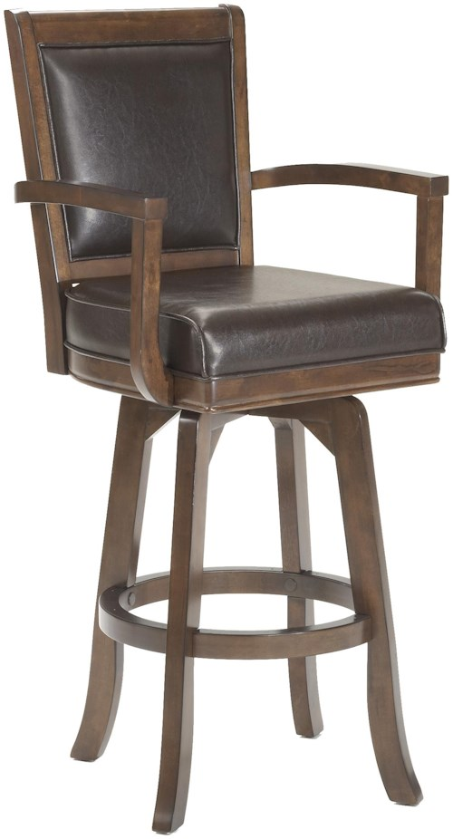 Hillsdale Game Stools & Chairs Ambassador Swivel Bar Stool