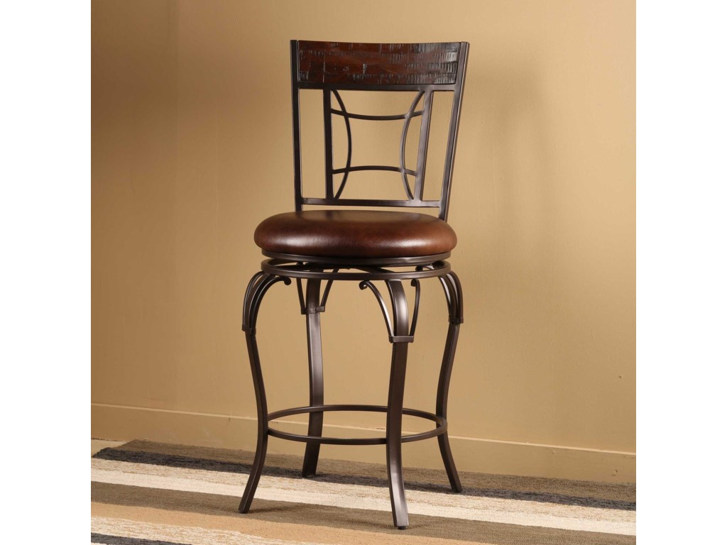 Hillsdale GranadaSwivel Counter Stool