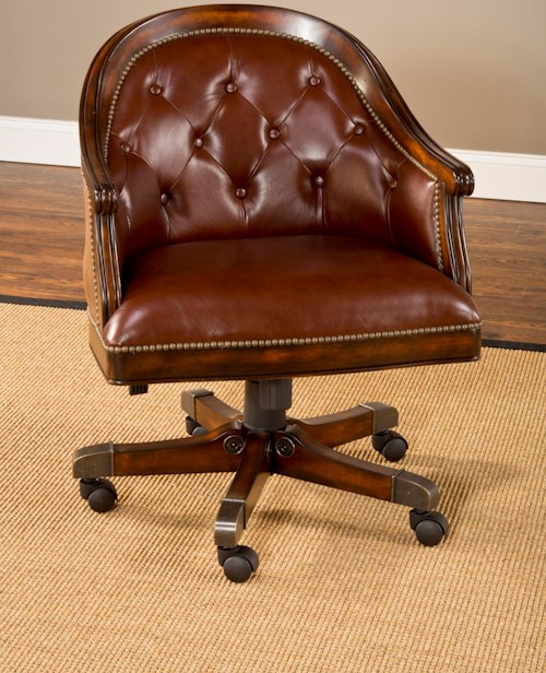 Hillsdale Harding Upholstered Game Chair with Casters