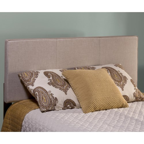 Hillsdale Isabella Beige Upholstered Full/Queen Headboard