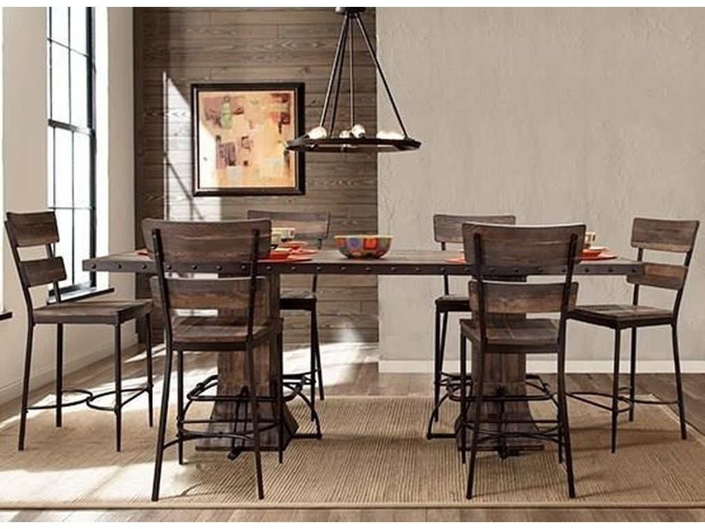 Hillsdale Jennings7-Piece Counter Height Dining Set