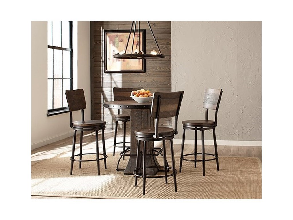 Hillsdale Jennings5-Piece Counter Height Dining Set