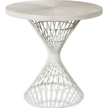 Round Counter-Height Dining Table