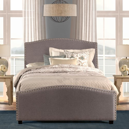 Hillsdale Kerstein California King Upholstered Bed With Nailhead Trim