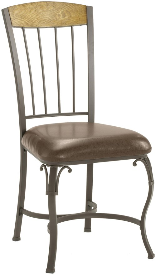 Hillsdale Lakeview Dining Chair with Wood Panel in Top
