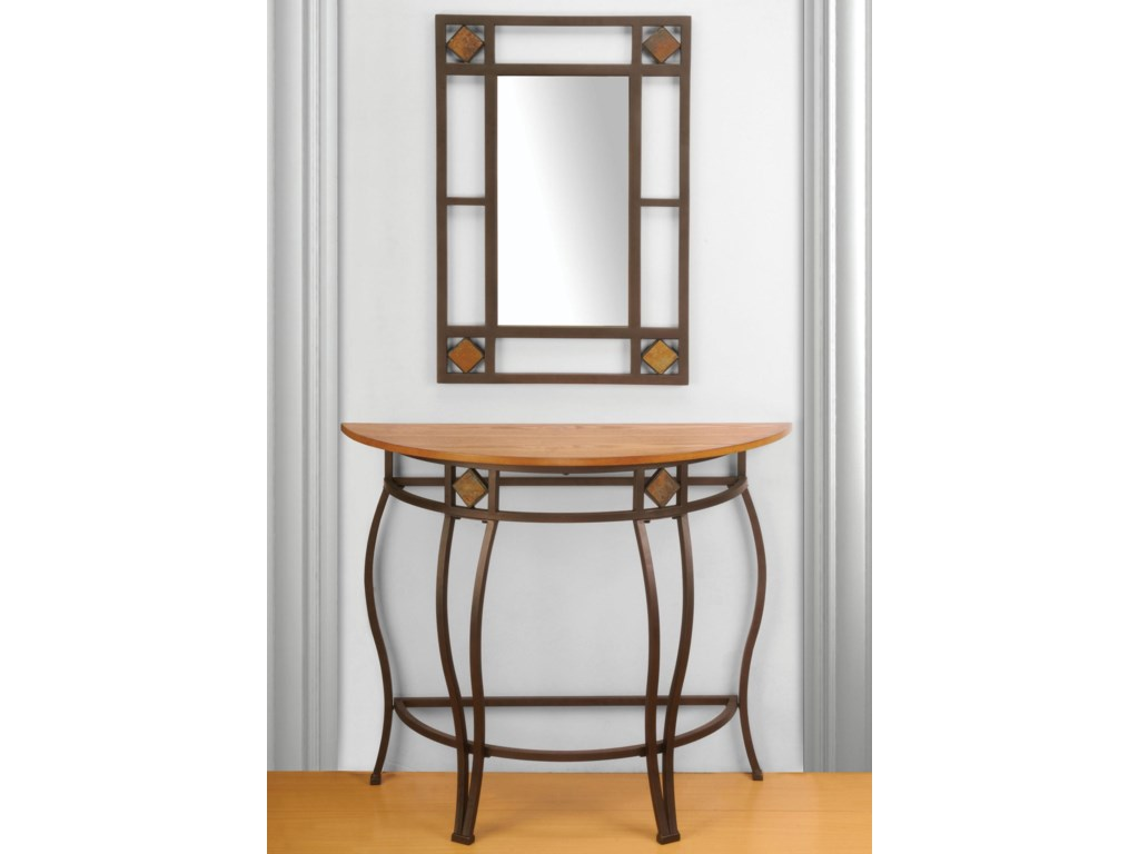 Shown with Console Table