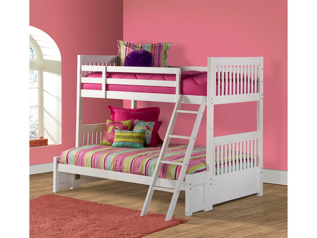 Hillsdale Lauren Twin/Full Bunk Bed