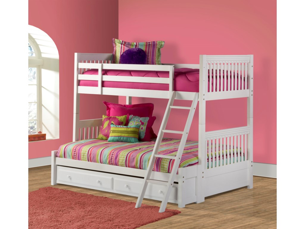 Hillsdale Lauren Twin/Full Bunk Bed