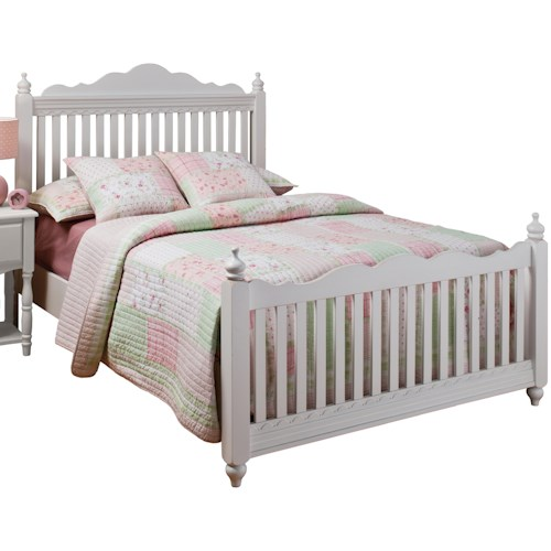 Hillsdale Lauren  Twin Poster Bed