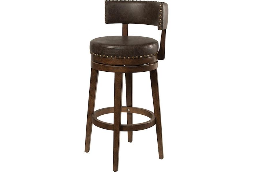 Hillsdale Lawton 4839-830 Low Back Swivel Bar Stool | Dunk ...