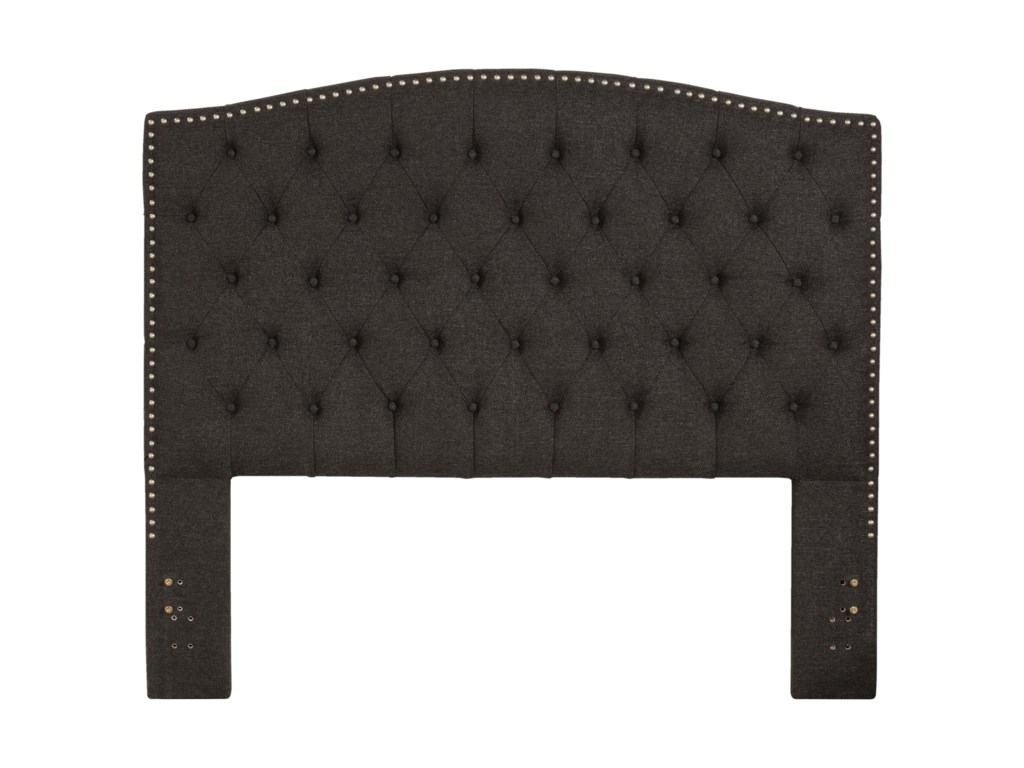 Hillsdale LilaKing Upholstered Headboard