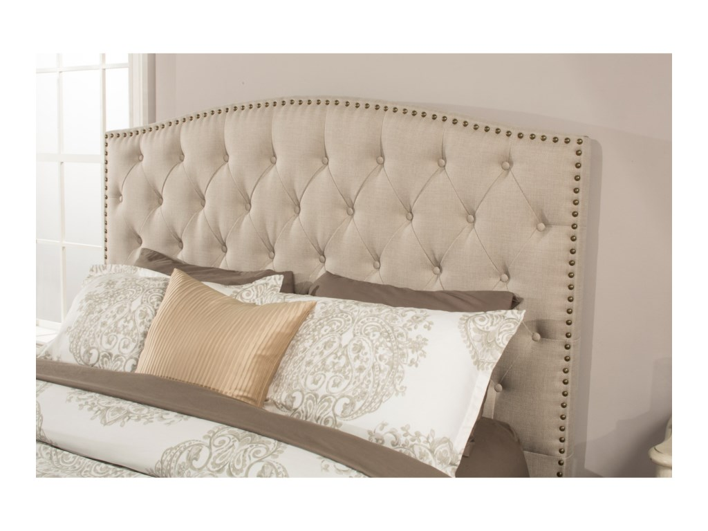 Hillsdale LilaKing Upholstered Bed