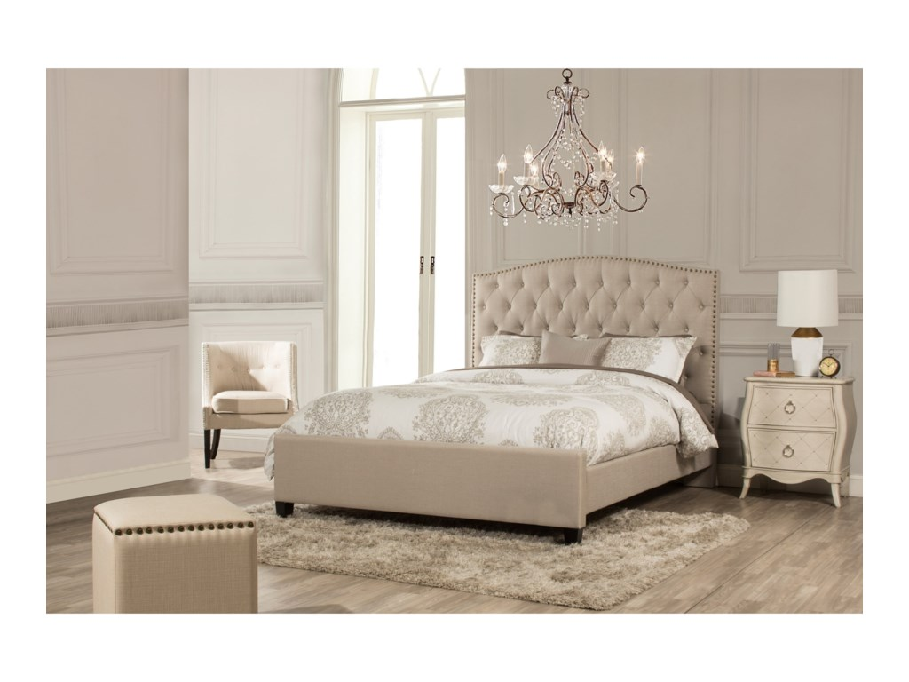 Hillsdale LilaQueen Upholstered Bed