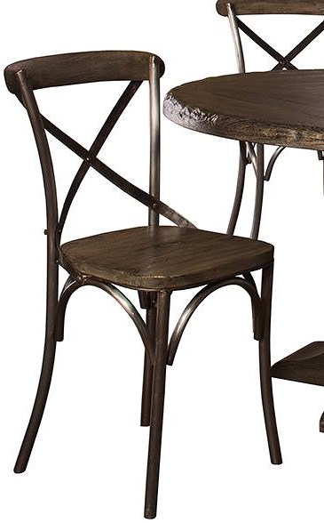 Hillsdale Lorient Dining Side Chair with X Back