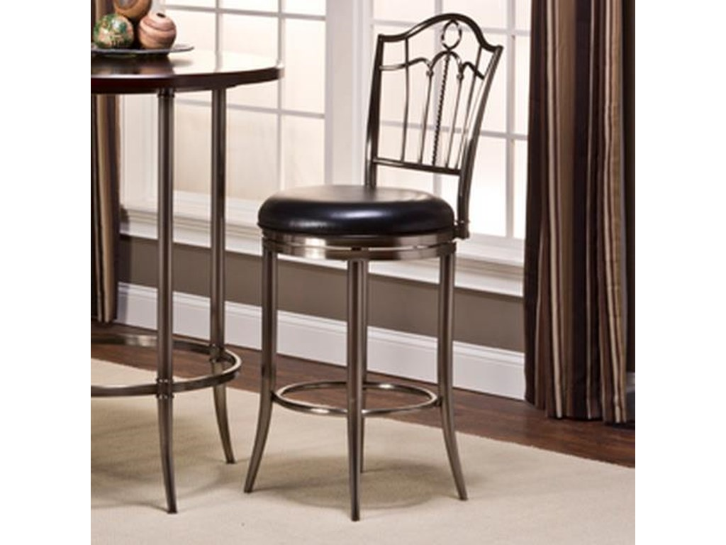 Hillsdale MaddoxPortland Swivel Bar Stool
