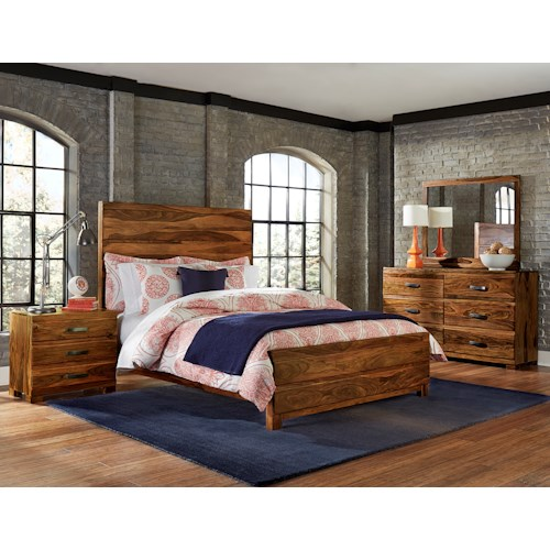 Hillsdale Madera 4-Piece Platform Bedroom Set - King