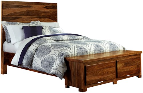 Hillsdale Madera Queen Storage Bed with 2 Drawers and Block Feet
