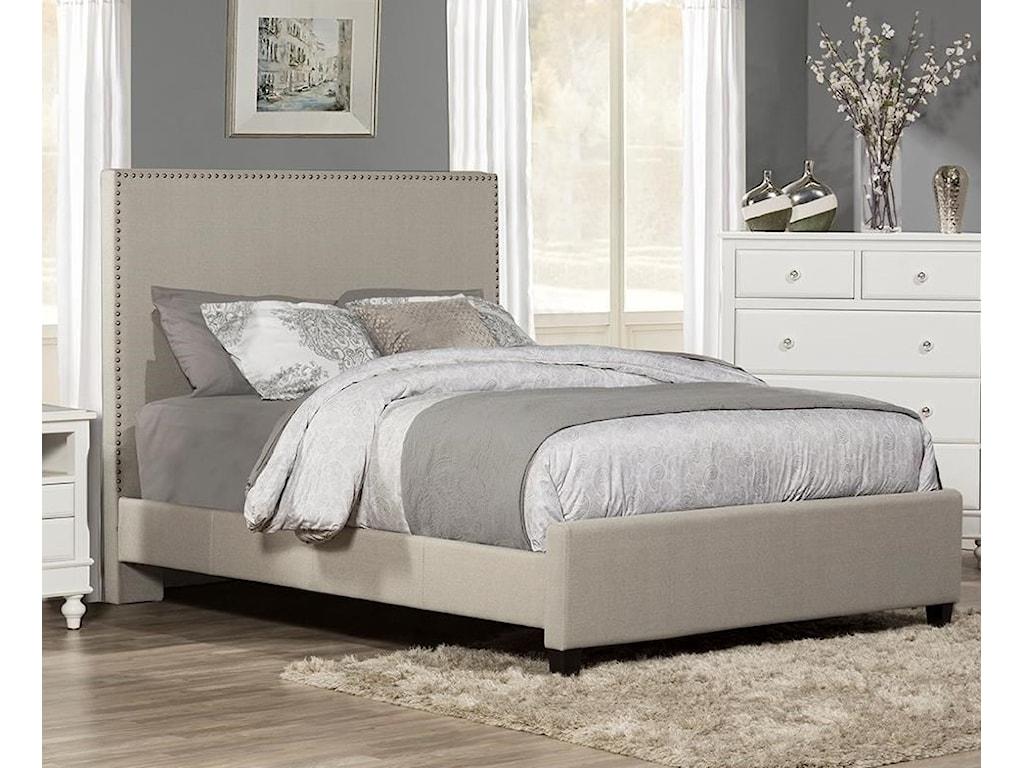 Hillsdale MeganKing Upholstered Bed