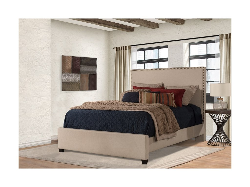 Hillsdale MeganQueen Upholstered Bed