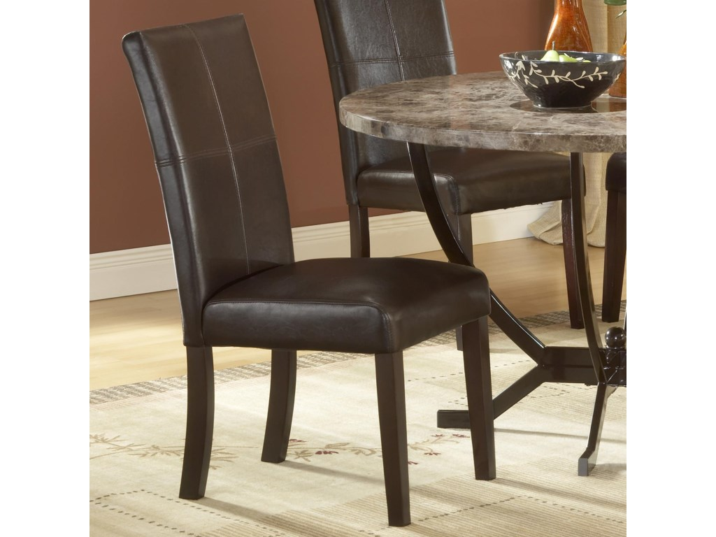 Hillsdale Monaco Upholstered Side Parson Dining Chair ...