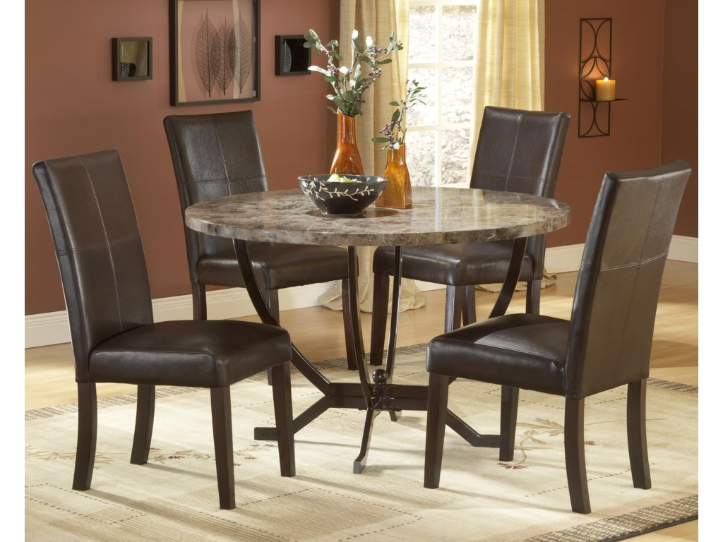 Shown with Side Parsons Chairs