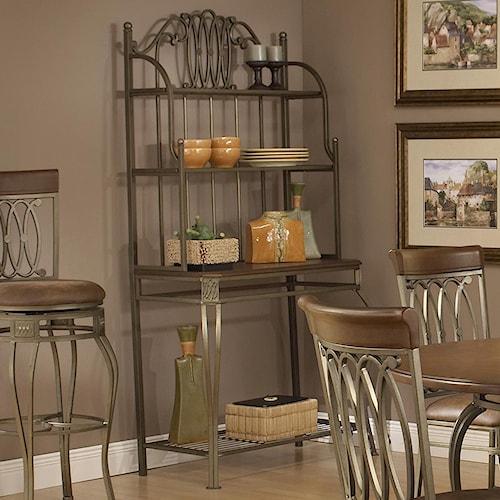 Hillsdale Montello Four Shelf Baker's Rack