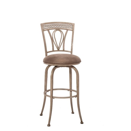 Hillsdale Napier Metal Swivel Counter Stool Wayside