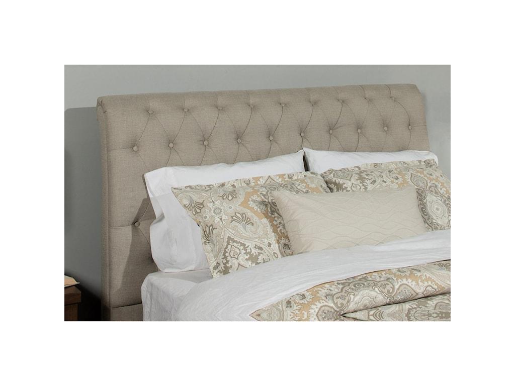 Hillsdale NapletonKing Upholstered Bed